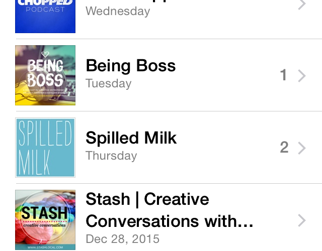 Staying Inspired: Podcasts I Love