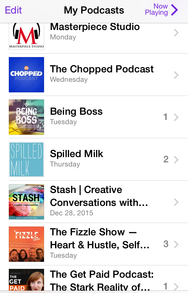 Podcasts That Inspire Me | Eyes Bigger Than My Stomach