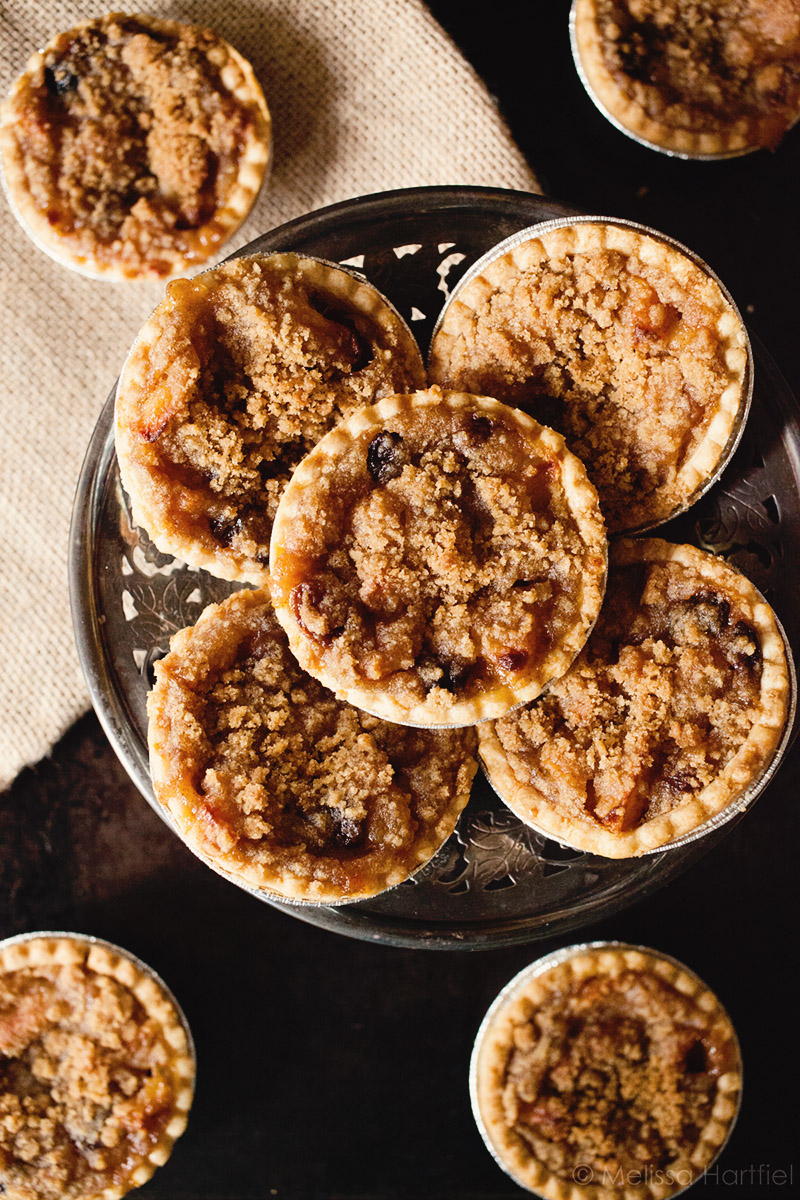 Apple Raisin Custard Tarts | Food Bloggers of Canada