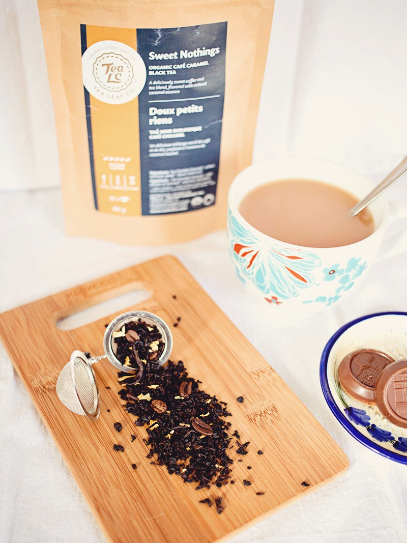Friday Tea & Chocolate: TLC Sweet Nothings Tea | eyes bigger than my stomach