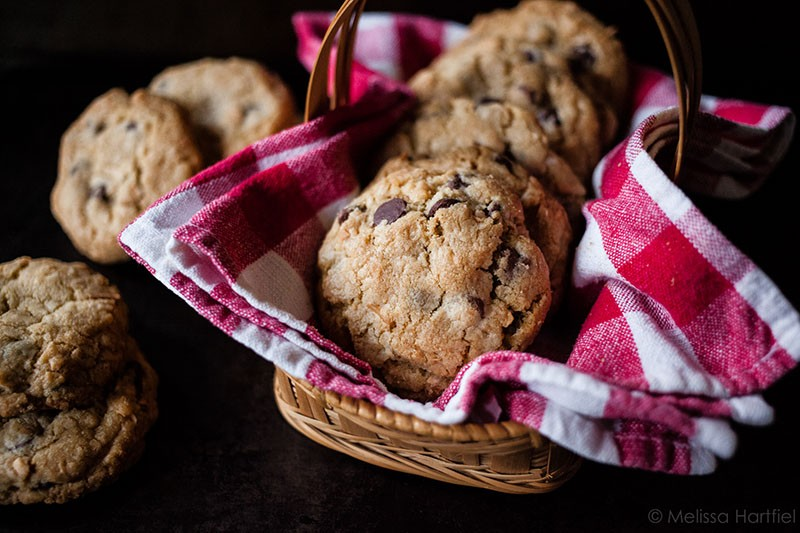 Chocolate chip coconut cookies | eyes bigger than my stomach