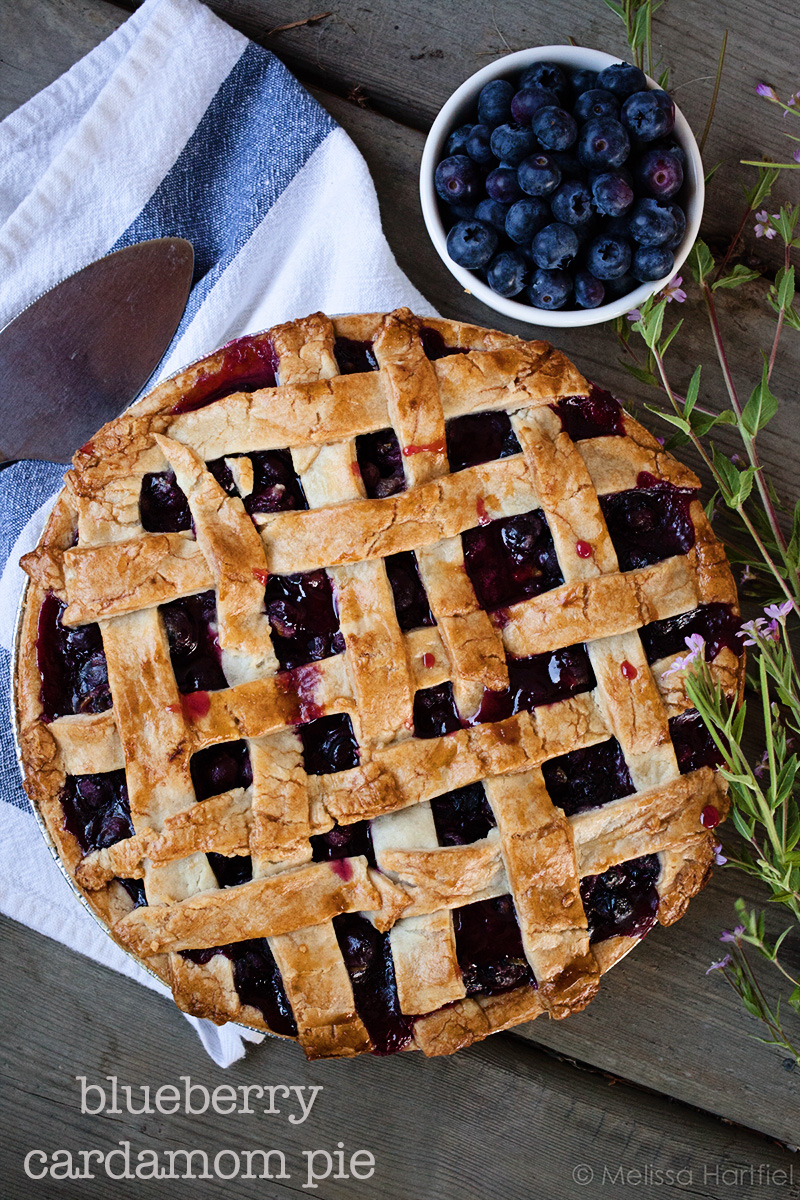 Blueberry Cardamom Pie | eyes bigger than my stomach