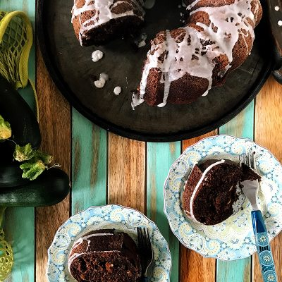 Chocolate Zucchini Bundt Cake | eyes bigger than my stomach