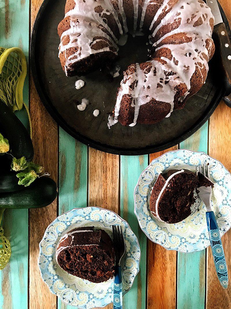 Chocolate Zucchini Bundt Cake | eyes bigger than my stomach