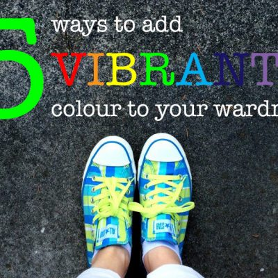 5 Ways To Add Vibrant Colour To Your Wardrobe | eyes bigger than my stomach