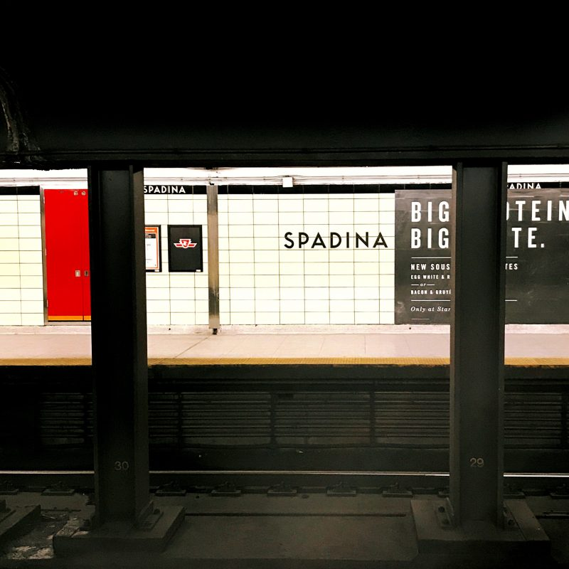 Spadina Subway Station
