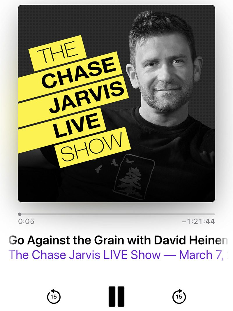 the Chase Jarvis Live Show Podcast