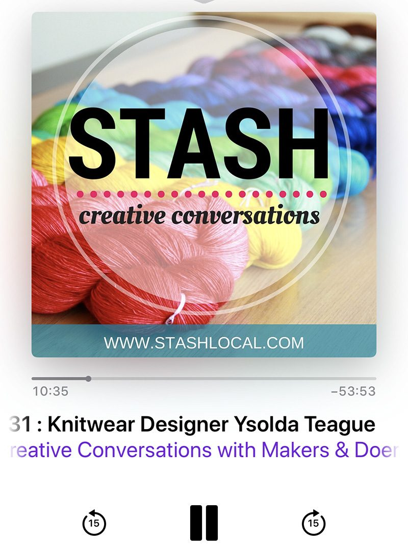 Stash: Creative Conversations Podcast