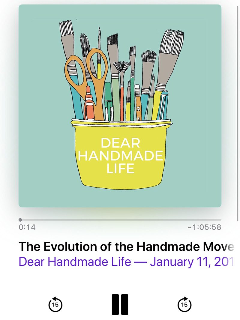 Dear Handmade Life Podcast