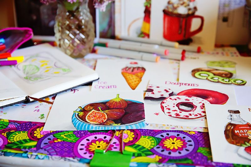 5 tips for undertaking a daily creative challenge | eyes bigger than my stomach