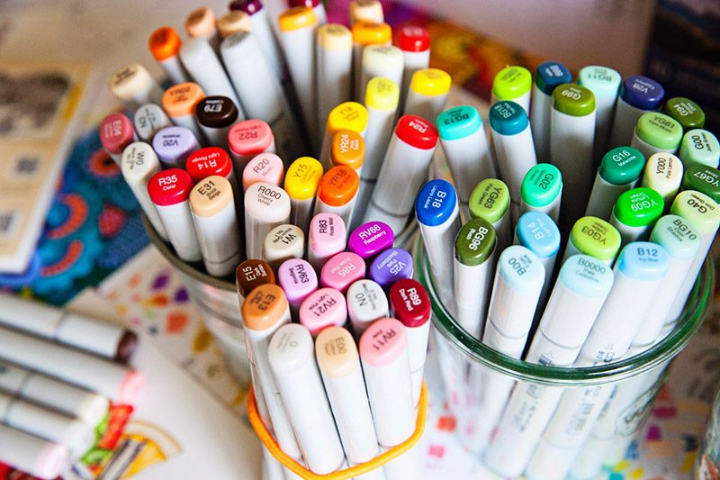 Copic Marker Food Illustration Tools | eyes bigger than my stomach